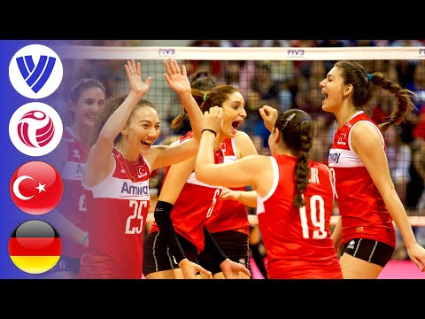 Turkey vs. Germany - Full Match   Women's Volleyball World Grand Prix 2016