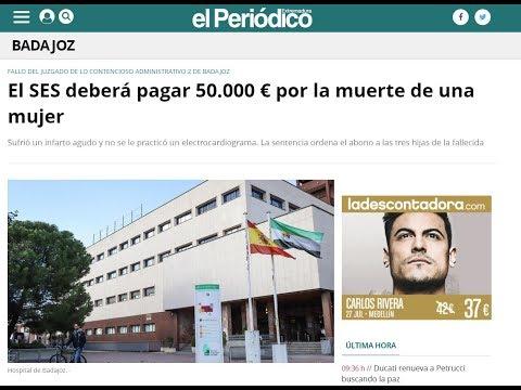 Condena al SES por Negligencia Médica en el Hospital Infanta Cristina de Badajoz