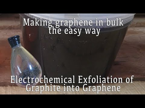 Making Graphene in Bulk the Easy Way: Electrochemical Exfoliation of Graphite - UCV5vCi3jPJdURZwAOO_FNfQ