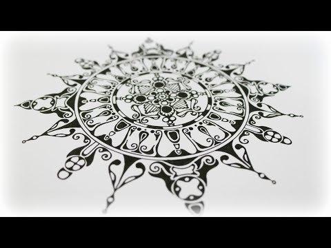 Zentangle Inspired Art #40