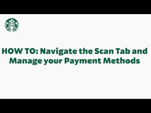 Starbucks App Basics: Using the Scan Tab (StarbucksCare)