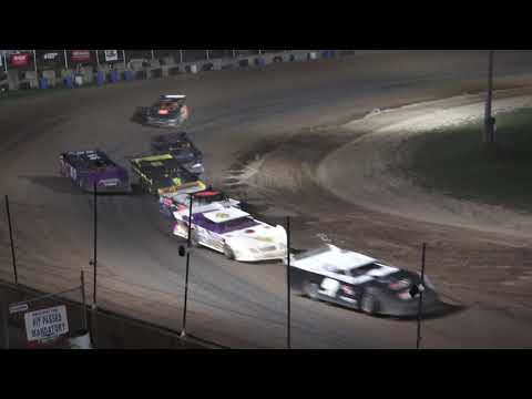 Late Model B-Feature at Crystal Motor Speedway, Michigan on 09-05-2021!! - dirt track racing video image