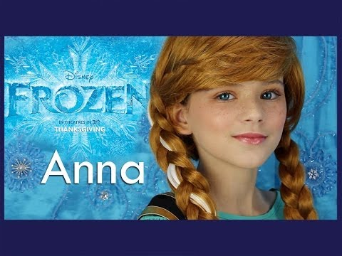 Disney's FROZEN Anna Makeup Tutorial | KITTIESMAMA
