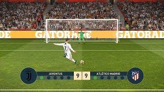 JUVENTUS vs ATLETICO MADRID   UEFA Champions League - UCL   Penalty Shootout   PES19