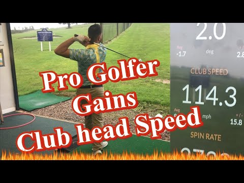 How Pro Golfer gained 5mph Club head Speed
