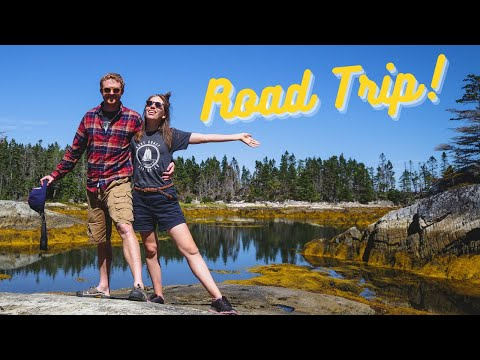 Best Day of Our NOVA SCOTIA ROAD TRIP in Canada 🚘 🇨🇦 | Visiting LaHave Islands + The Ovens