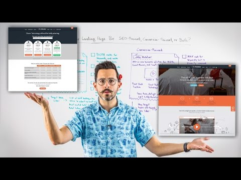 Should My Landing Page Be SEO-Focused, Conversion-Focused, or Both? - Whiteboard Friday