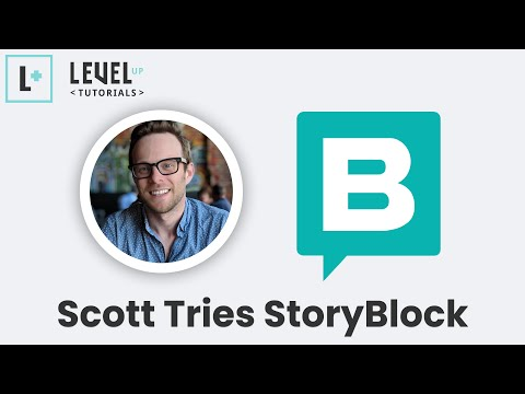 Scott Tries StoryBlok - Headless CMS with a Visual Editor