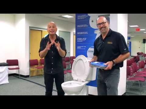 Howie Mandel & The ActiClean Self-Cleaning Toilet