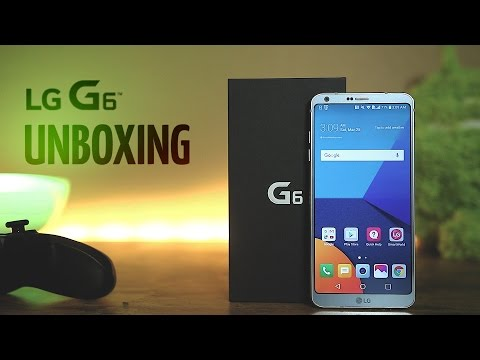 LG G6 Unboxing and Hands On!