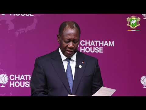 S.E.M. Alassane OUATTARA a animé une conférence à Chatham House