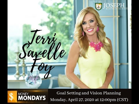 JBS Money Mondays: Goal Setting and Vision Planning with Terri Savelle Foy