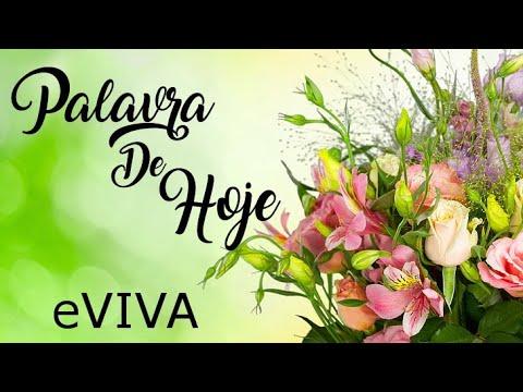 PALAVRA DE HOJE 07 DE MAIO 2020 eVIVA MENSAGEM MOTIVACIONAL PARA REFLEXÃO HEBREUS 11-1 - BOM DIA!