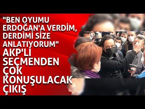 """""""Ben oyumu Erdoğan'a verdim, derdimi size anlatıyorum"""" AKP'li seçmenden çok konuşulacak çıkış"""