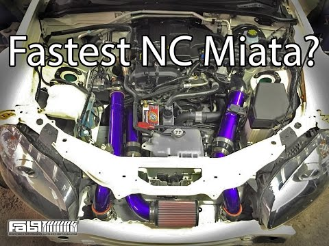 EFR Turbo 2.5L 400WHP Miata Review Built By Fab9Tuning