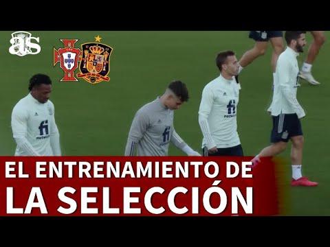 El entrenamiento de la Selección antes del amistoso ante Portugal | Diario AS