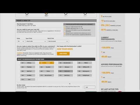 Explaining the components of a tip on Betadvisor.com