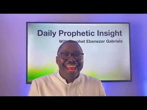 The prophetic Insight  Mar 1st, 2021