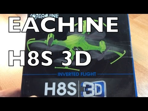 Eachine H8S 3D Inverted Quadcopter- Review - UCTa02ZJeR5PwNZK5Ls3EQGQ
