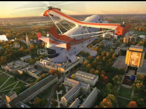 Hotelicopter - The Worlds First Flying Hotel
