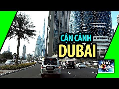 Cận cảnh phố Dubai, ngợp mắt với những kiến trúc hiện đại đầy sáng tạo