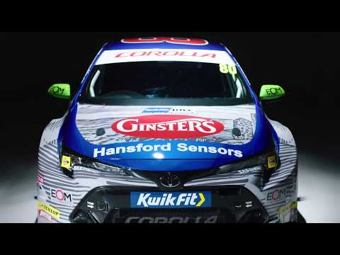 Team Toyota GB with Ginsters - Corolla BTCC 2019 livery reveal