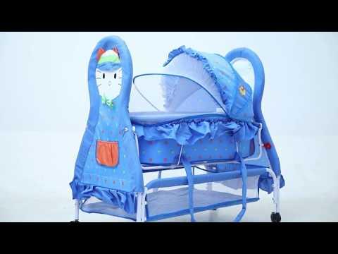 Baybee Baby Cat Multipurpose Swing Cradle cum Bassinet with Detachable Carry Cot Assembling Video - UCnAV6qtoACNQiNnLhKj2wDg