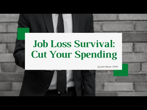 5 Ways to Stop Bleeding Money After You Lose Your Job | Don't Let Job Loss Ruin Your Finances