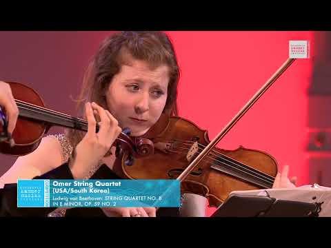 Omer String Quartet - Ludwig van Beethoven: String Quartet No. 8 in e minor, Op. 59 No. 2