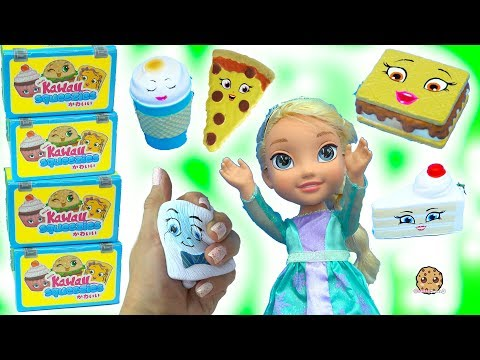 Kawaii Squeezies Squishy Food Mystery Surprise Blind Bags - Fun Toy Video - UCelMeixAOTs2OQAAi9wU8-g