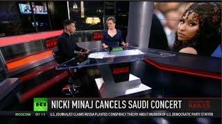 Nicki Minaj Joins Boycott of Saudi Arabia & JPMorgan Linked To Massive Drug Bust