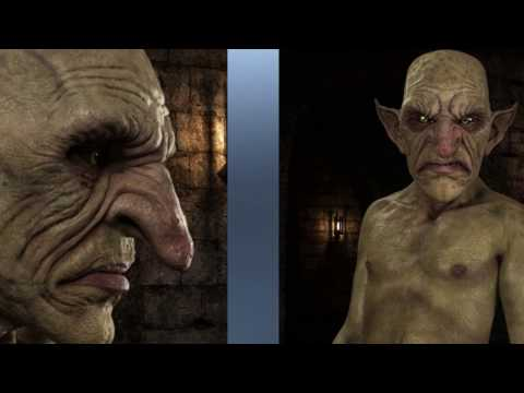 Robbus Goblin HD for Genesis 3 Male Promotional Video