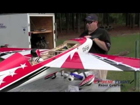 """Extreme Flight 104"""" Extra Assembly Video #4 - Finishing and Maiden - UCMglwOJwgmWGbHukotknTzw"""