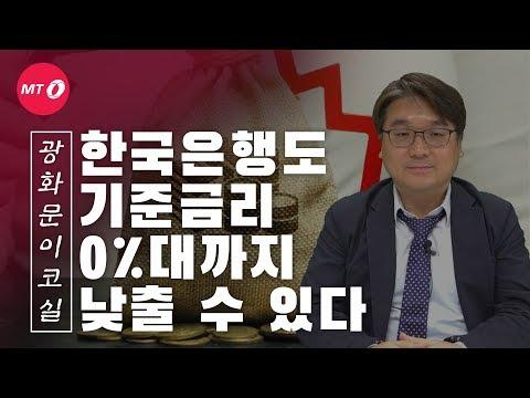 [광화문이코실]EP21.한국은행도 기준금리 0%대로 낮춘다?