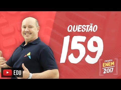 Enem 2016: Questão159(CadernoRosa)