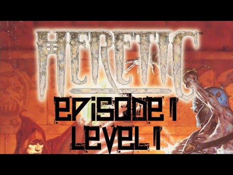 Heretic (1994) - PC - Episode 1 Level 1