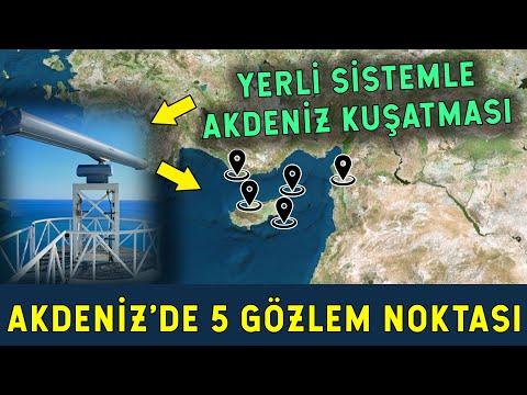 Türkiye 5 Bölgeye İstasyon Kuruyor! Akdeniz'in Fethi