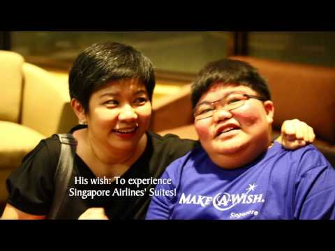 Donate Your KrisFlyer Miles, Make A Wish Come True | Singapore Airlines