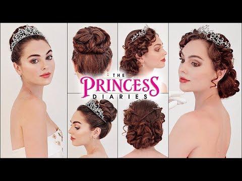 "Mia ""The Princess Diaries"" Updos! Prom 2019 Hair"
