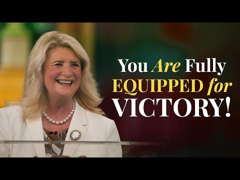 You Are Fully Equipped For Victory! (June 13, 2021)  Cathy Duplantis