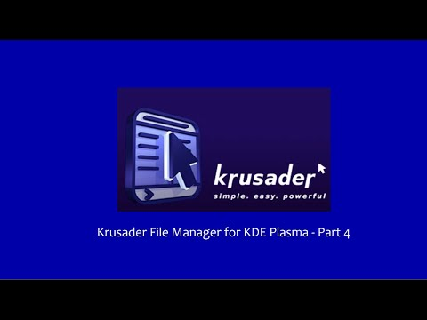 Krusader File Manager - Part 4