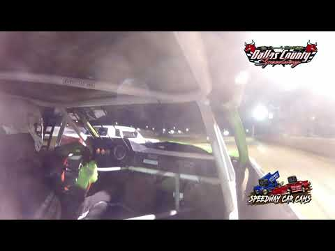 #53 Richard Burks - Pure Stock - 8-13-2021 Dallas County Speedway - In Car Camera - dirt track racing video image