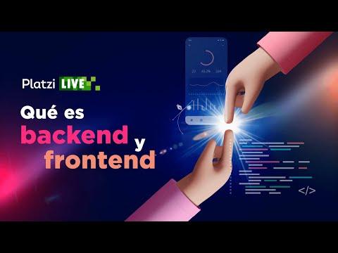 Qué es Frontend y Backend
