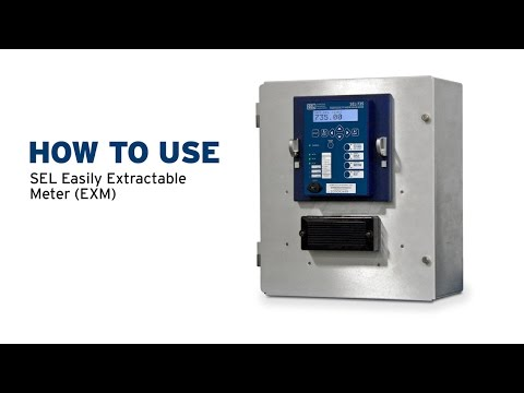 How to Use SEL Easily Extractable Meters
