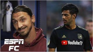 Zlatan Ibrahimovic says he's better than Carlos Vela: Is he right?   Major League Soccer