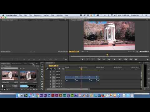Effects and Customization - Premiere Pro CC 2015 Test Prep tutorial