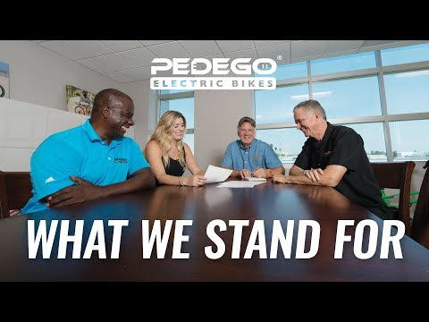 What We Stand For | Pedego Electric Bikes