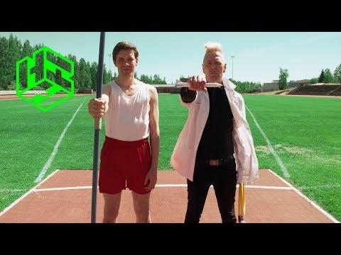Heureka-hetki 6: Paperiraketti vs. Keihäs -battle