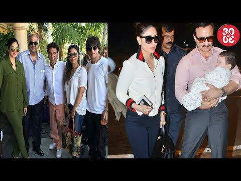 When The Khans Met Kapoors   Saif-Kareena Head For A Swiss Vacation With Taimur