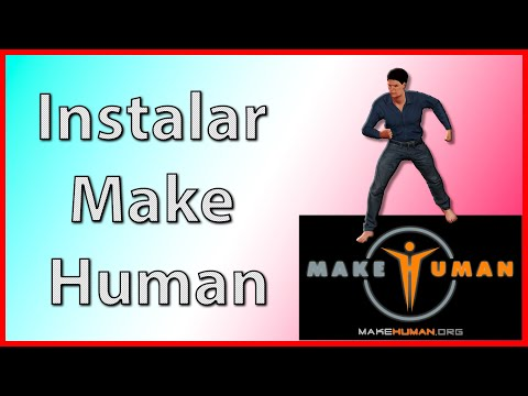 🧍🏽Descargar e Instalar Make Human 1.2.0